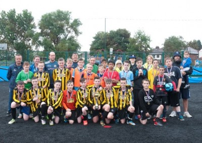 Safer Stockport Partnership Football Final